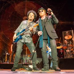 Toto gæstede Ceres Arena i Århus i anledning af deres 40 Trips Around the Sun-tour